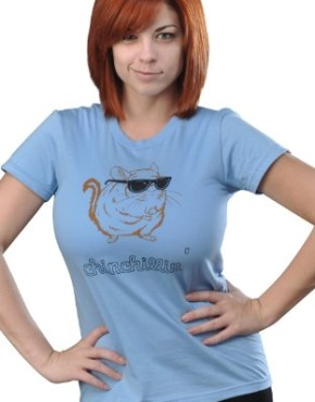 SnorgTees-Womens-Chinchillin-T-Shirt-0