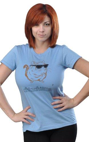 SnorgTees-Womens-Chinchillin-T-Shirt-0