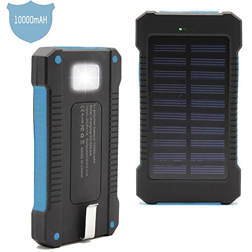 Solar-Charger-Matone-Portable-10000mAh-Solar-Battery-Charger-Shockproof-Dual-USB-output-Solar-Powered-Phone-Charger-for-iPhone-iPod-iPad-Samsung-HTC-GPS-Gopro-Camera-Blue-0-0