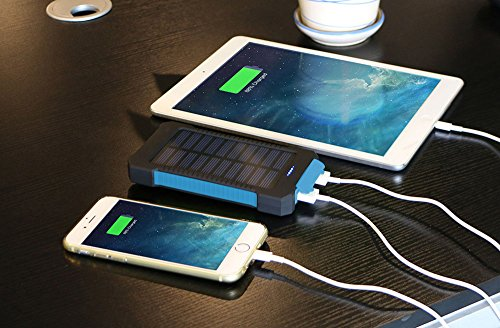 Solar-Charger-Matone-Portable-10000mAh-Solar-Battery-Charger-Shockproof-Dual-USB-output-Solar-Powered-Phone-Charger-for-iPhone-iPod-iPad-Samsung-HTC-GPS-Gopro-Camera-Blue-0-3