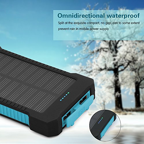 Solar-Charger-Matone-Portable-10000mAh-Solar-Battery-Charger-Shockproof-Dual-USB-output-Solar-Powered-Phone-Charger-for-iPhone-iPod-iPad-Samsung-HTC-GPS-Gopro-Camera-Blue-0-4