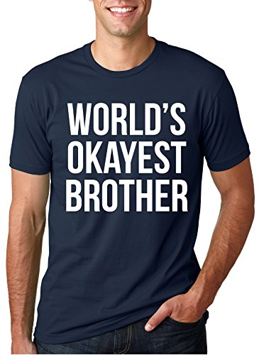 6549fdc196 World's Okayest Brother Men's T-Shirt - StuffyFox