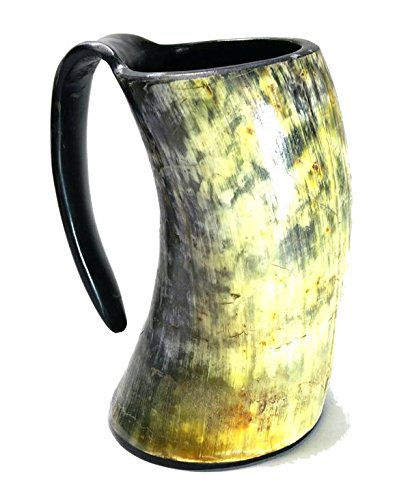 AleHorn-20oz-Handcrafted-Extra-Large-Viking-Cup-Drinking-Horn-Tankard-0