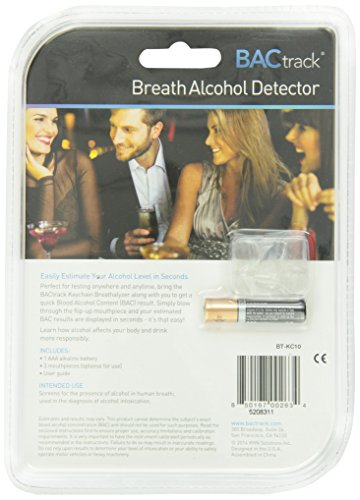 BACtrack-Keychain-Breathalyzer-Portable-Keyring-Breath-Alcohol-Tester-Black-0-5