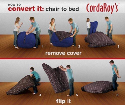 CordaRoys-Navy-Blue-Corduroy-Beanbag-Chair-King-Sleeper-0-1