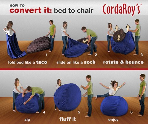 CordaRoys-Navy-Blue-Corduroy-Beanbag-Chair-King-Sleeper-0-2