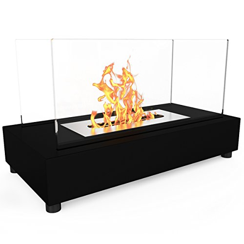 Elite-Flame-Avon-Ventless-Table-Top-Bio-Ethanol-Fireplace-Black-0