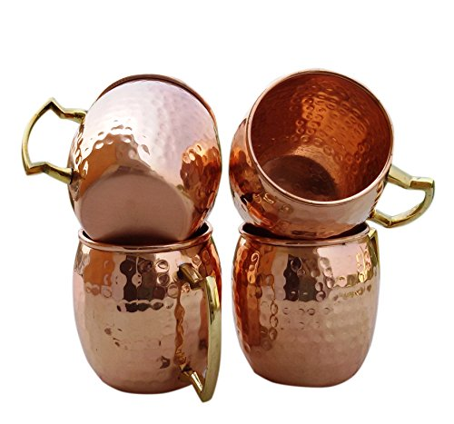 Hammered-Copper-Moscow-Mule-Mug-Handmade-of-100-Pure-Copper-Brass-Handle-Hammered-Moscow-Mule-Mug-Cup-0