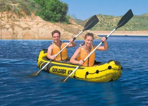 Intex-Explorer-K2-Kayak-2-Person-Inflatable-Kayak-Set-with-Aluminum-Oars-and-High-Output-Air-Pump-0-2