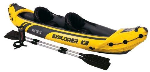 Intex-Explorer-K2-Kayak-2-Person-Inflatable-Kayak-Set-with-Aluminum-Oars-and-High-Output-Air-Pump-0