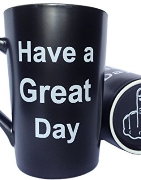 LaTazas-Porcelain-Coffee-Mug-Have-a-Great-Day-with-Middle-Finger-on-the-Bottom-Funny-Ceramic-Cup-Black-13Oz-0