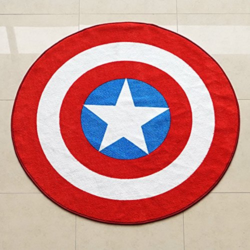 Marvel-Captain-America-Shield-Round-Rug-52in-0-1