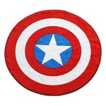 Marvel-Captain-America-Shield-Round-Rug-52in-0