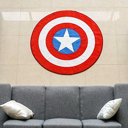 Marvel-Captain-America-Shield-Round-Rug-52in-0-2