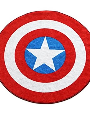 Marvel-Captain-America-Shield-Round-Rug-52in-0