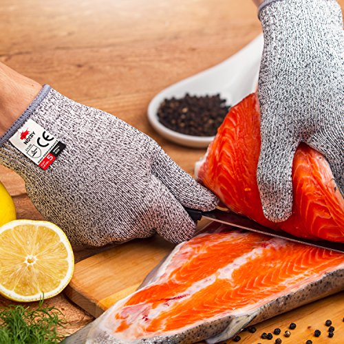NoCry-Cut-Resistant-Gloves-High-Performance-Level-5-Protection-Food-Grade-Size-Medium-Free-Ebook-Included-0-4