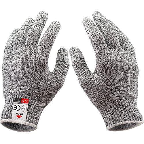 NoCry-Cut-Resistant-Gloves-High-Performance-Level-5-Protection-Food-Grade-Size-Medium-Free-Ebook-Included-0-7