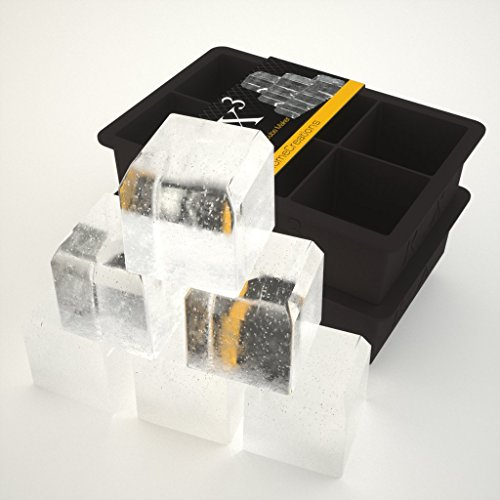 Rox-Cubed-Giant-6-x-2-Ice-Cube-Maker-Silicone-mold-for-Whiskey-Scotch-Cocktail-single-pack-0-1
