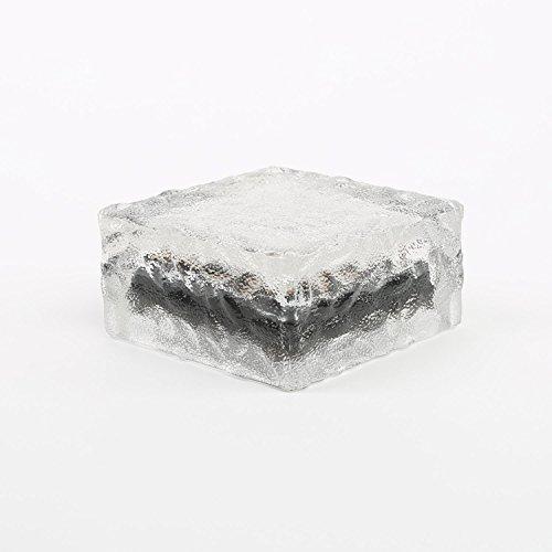 Solar-4-LED-Clear-Glass-Brick-Paver-Light-Cool-White-4-x-4-0-1