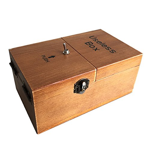 Turns-Itself-Off-Useless-Box-Leave-Me-Alone-Machine-Fully-Assembled-in-Real-Wood-0-0