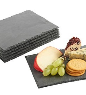 VonShef-Set-of-6-Mini-Slate-Cheese-Boards-for-Dinner-Parties-and-Entertaining-0