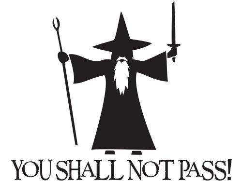 You-Shall-Not-Pass-Gandalf-LOTR-6-Black-Vinyl-Decal-Luna-Graphic-Designs-0